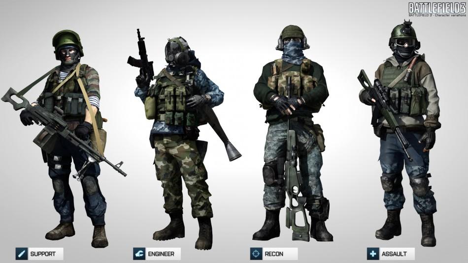 Battlefield 3 multiplayer Russians