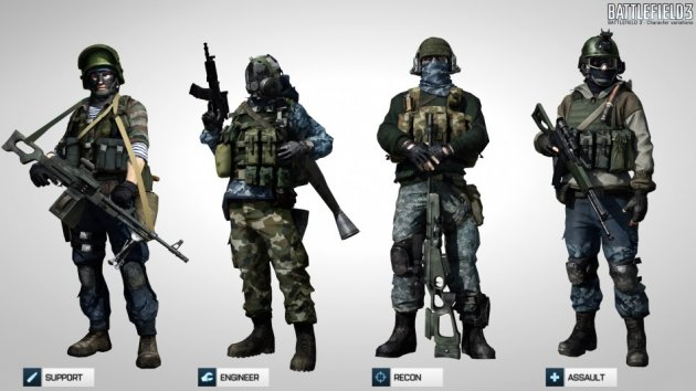Battlefield 3 multiplayer Russians