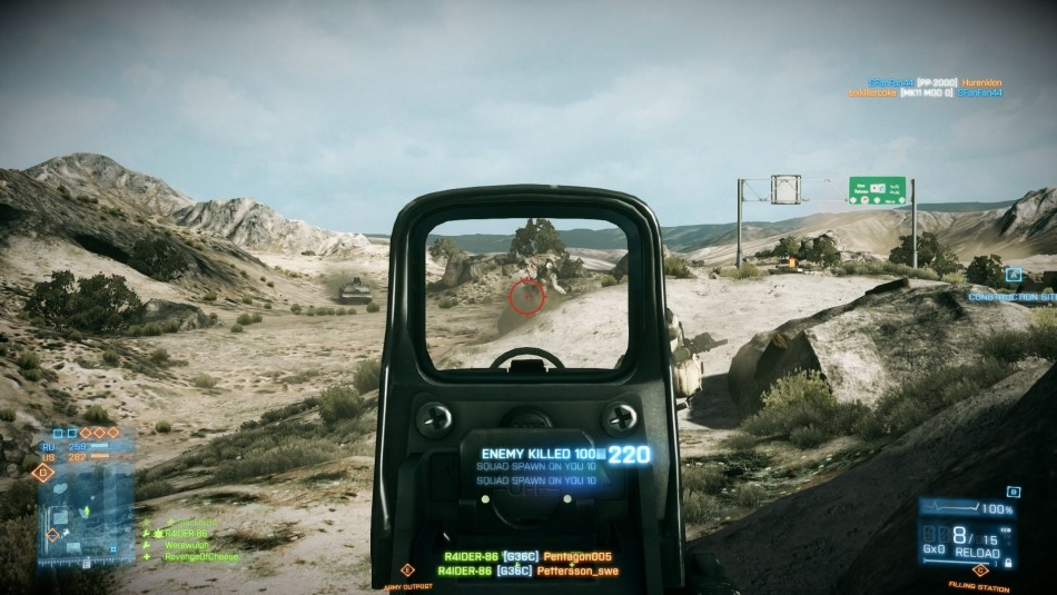 Battlefield 3 multiplayer is art