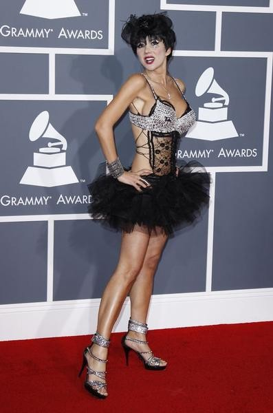 Singer Nadeea arrives at the 54th annual Grammy Awards in Los Angeles, California February 12, 2012.