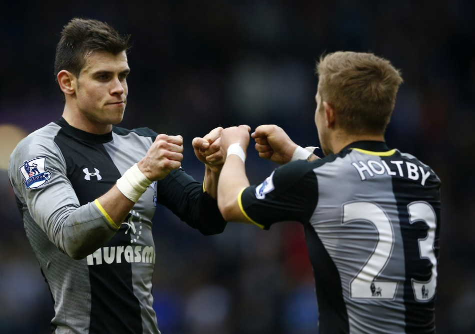 Gareth Bale and Lewis Holtby