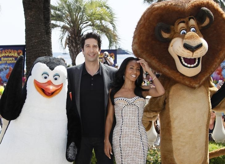 David Schwimmer and Jada Pinkett-Smith