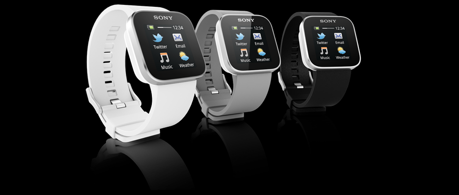 The Sony SmartWatch