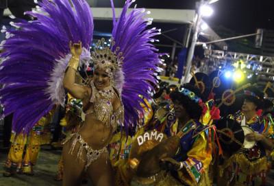 Rio carnival 2013 Samba Dancers