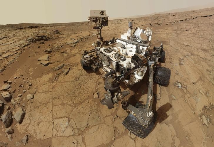 NASA's Mars rover Curiosity drilled into Mars for a rock sample, to analyse for geologic and microbial life forms