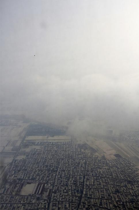 China Pollution Levels: Chinese New Year 2013 Masked by Smog [PHOTOS]