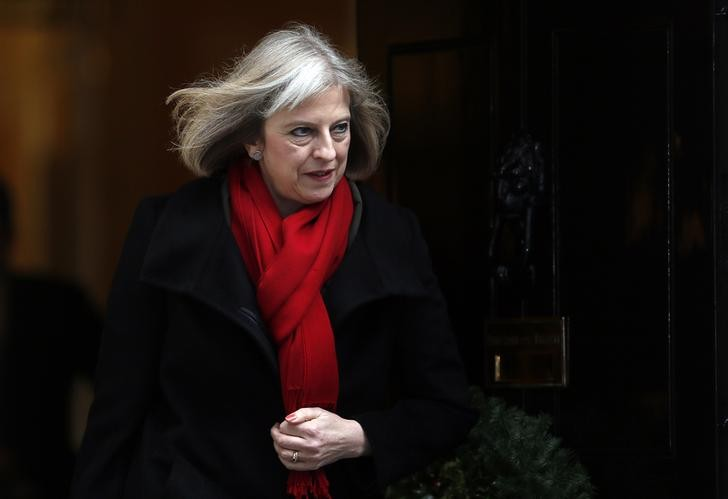 Home secretary Theresa May (Reuters)