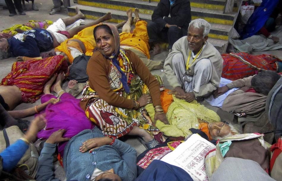 Stampede at Allahabad Station after Maha Kumbh Mela