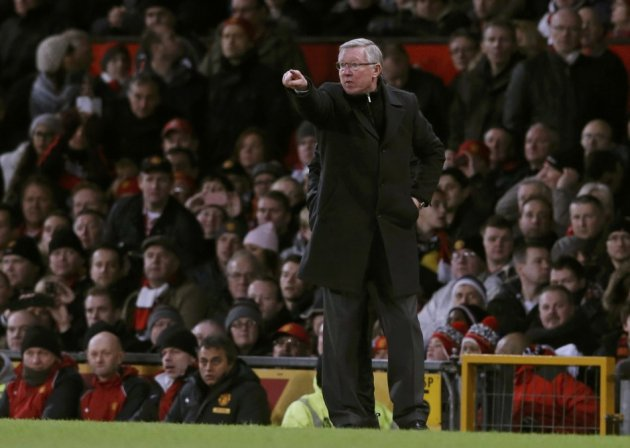 Sir Alex Ferguson fielded a strong line-up against Everton