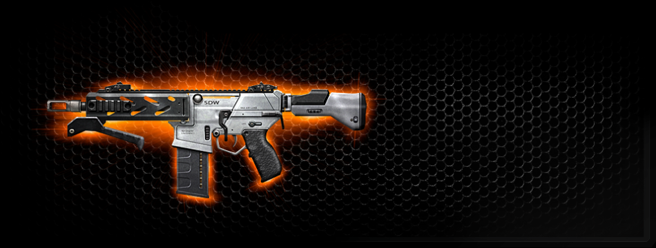 Peacekeeper SMG (CoD Black Ops 2) (Source - Call of Duty)
