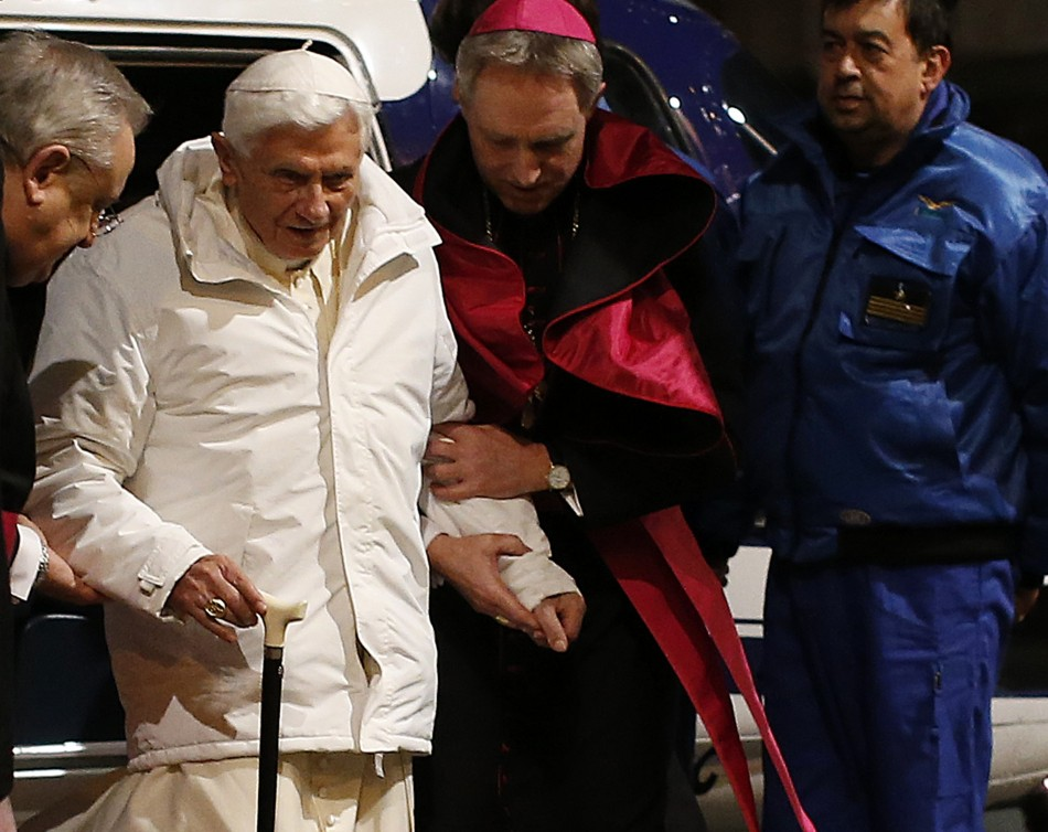 ailing pope