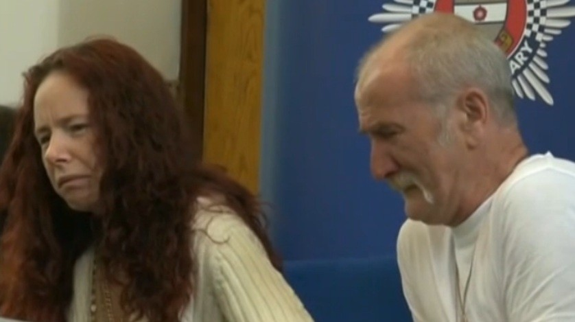 Mairead and Mick Philpott at a press conference last year