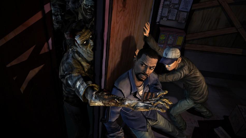 videogame baftas the walking dead