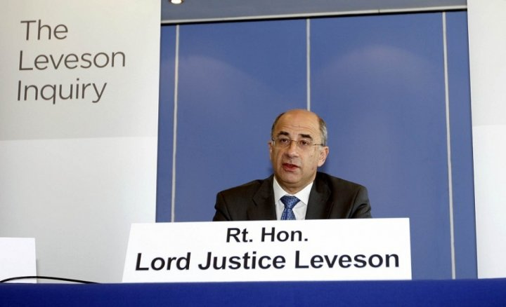 The Leveson Report recommended a tougher form of self-regulation backed by legislation (Reuters)