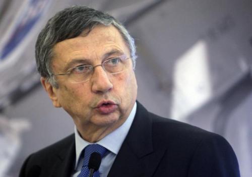 Finmeccanica Chairman and Chief Executive Officer Giuseppe Orsi.