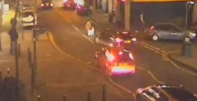 The accident happened at King William Street in the Hillfields area of Coventry just before 7.30pm on Friday 7 December (West Midlands Police)