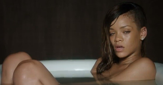 Rihanna in Stay Video