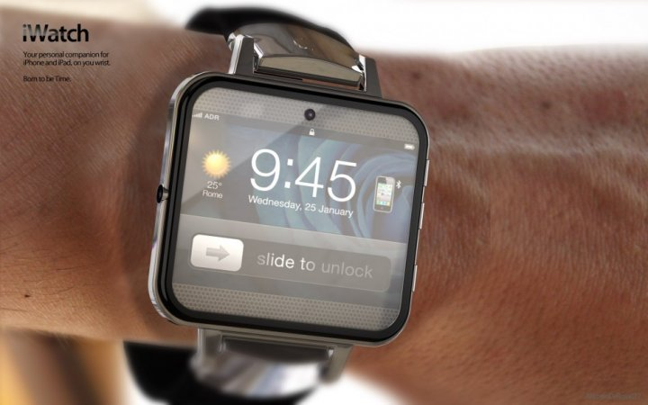 Apple iWatch mockup