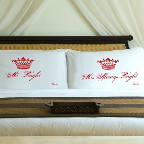 Personalised Royal Pillowcase Sets