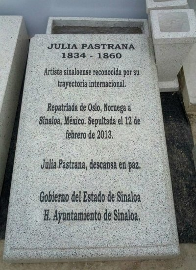 Worlds ugliest woman Julia Pastrana buried in Mexico