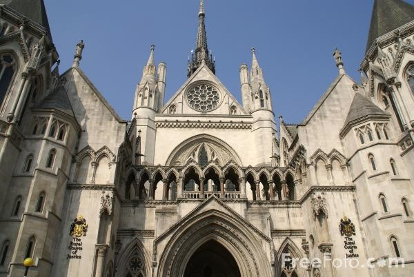 The Royal Court of Justice, UK (Photo: freefoto.com)