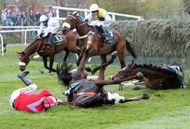 Fatal fall at Becher's Brook