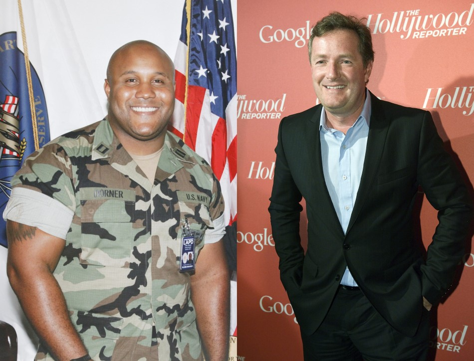 Christopher Dorner Piers Morgan