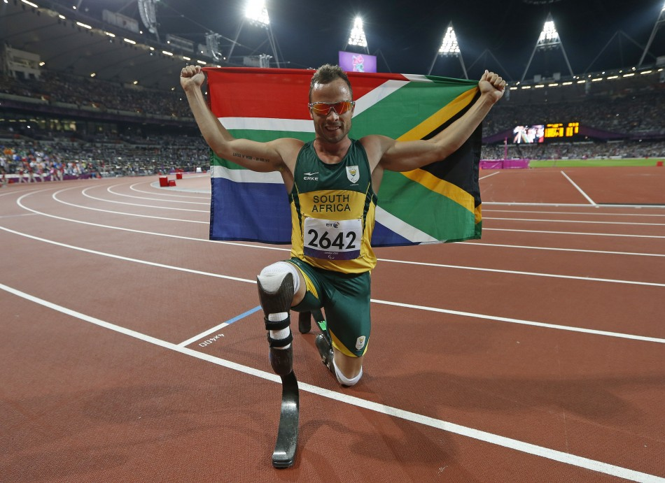 Oscar Pistorius at LOndon Olympics