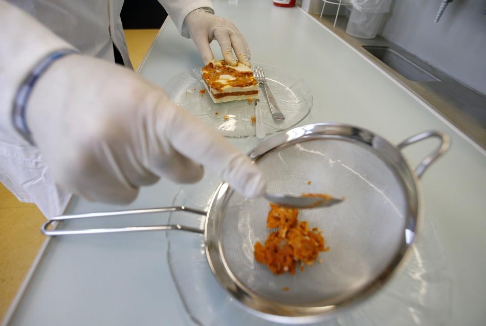 Scientists test frozen lasange for horsemeat