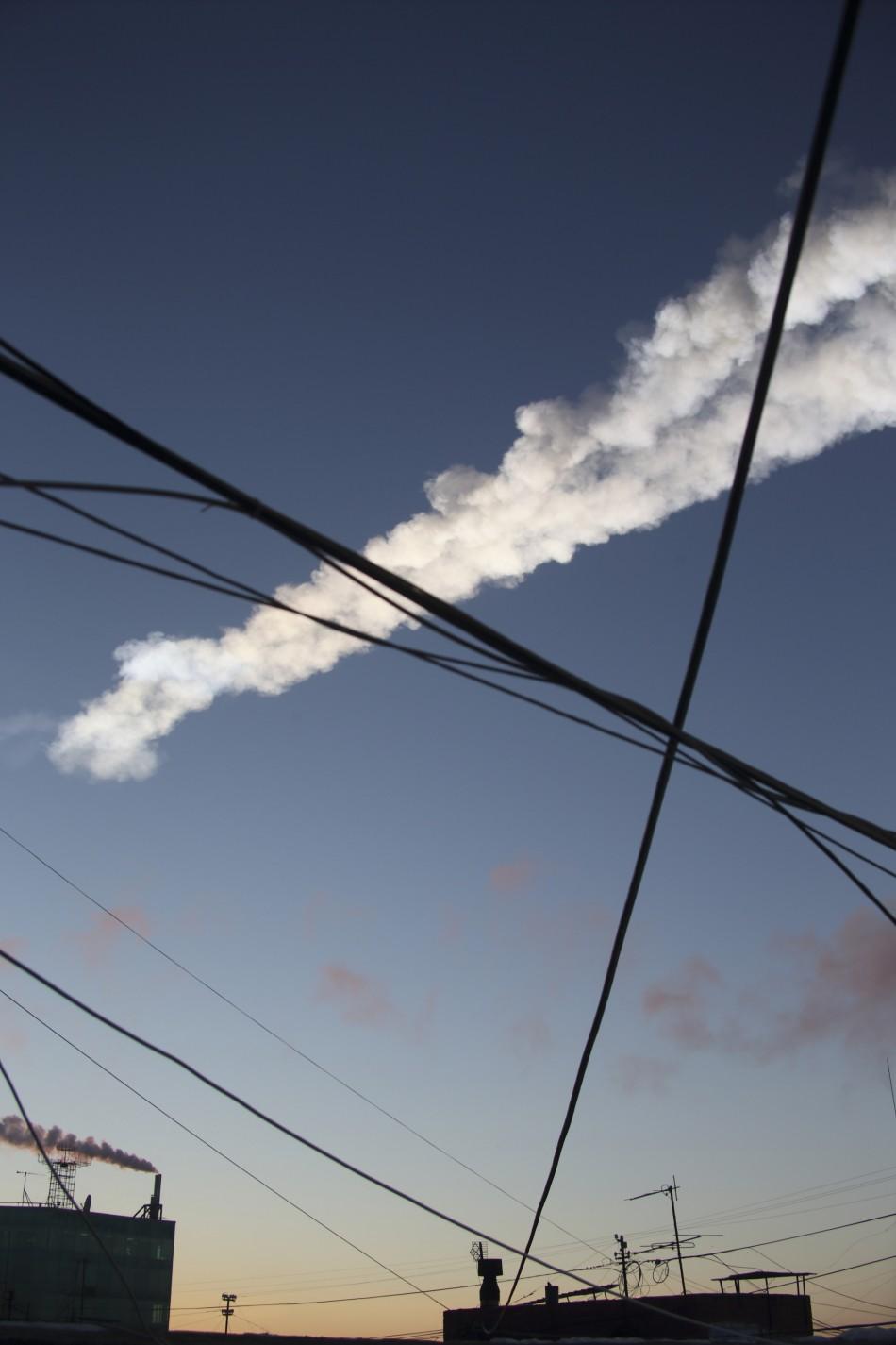 Meteor Shower Russia