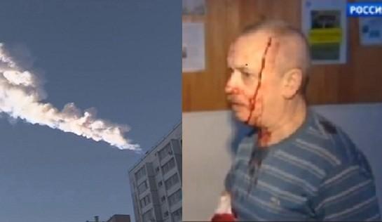 Russia meteor split pic