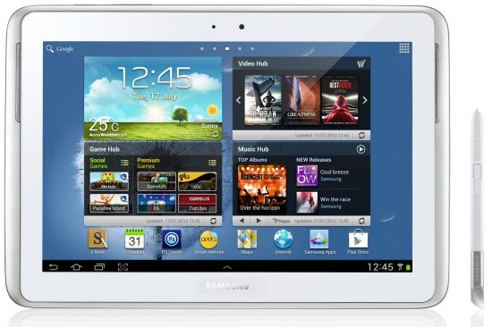 Galaxy Note 10.1 LTE N8020 Gets Android 4.1.2 XXBMA6 Jelly Bean Official Firmware [How to Install]