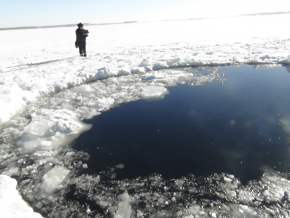 Russia Meteor crater
