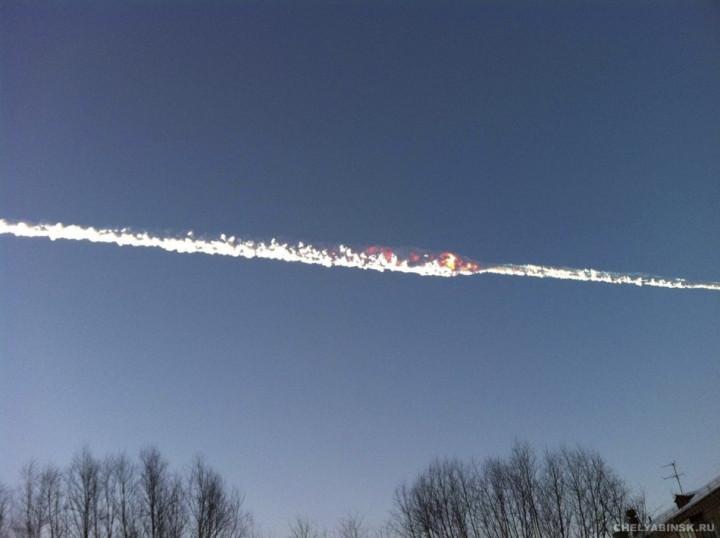 Russia meteorite explosion