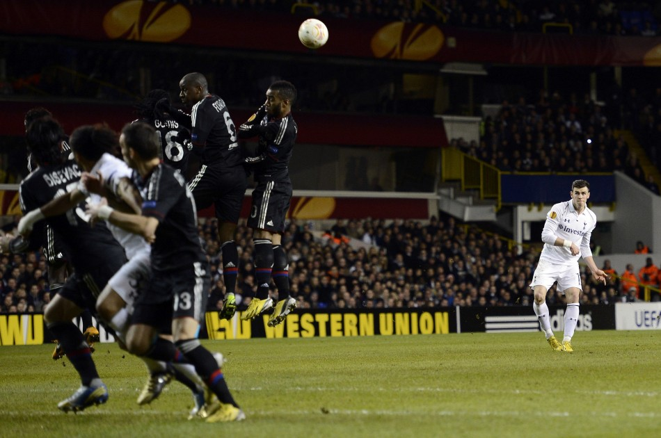 Gareth Bale Scores against Lyon