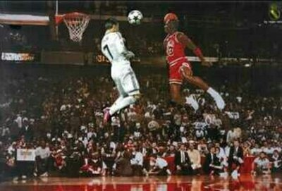 Michael Jordan vs Cristiano Ronaldo