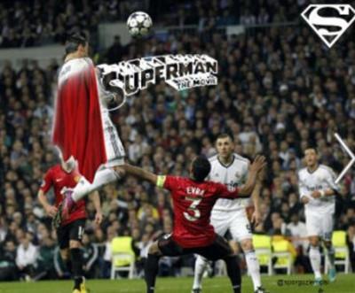 Superman Cristiano Ronaldo