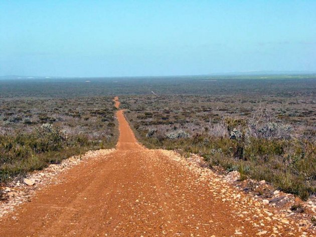 The Australian outback (Wikipedia)