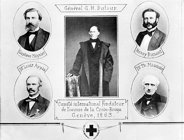 Red Cross founders