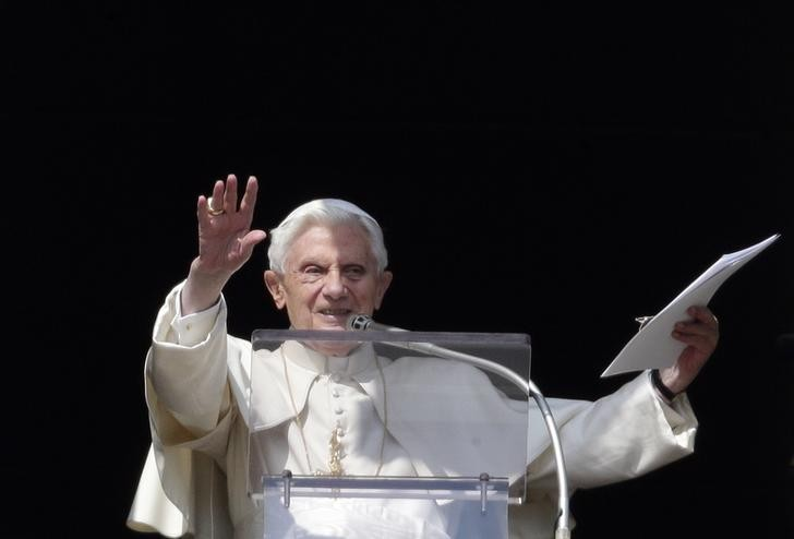 The outgoing pope, Benedict XVI. But who will be the next pontiff?