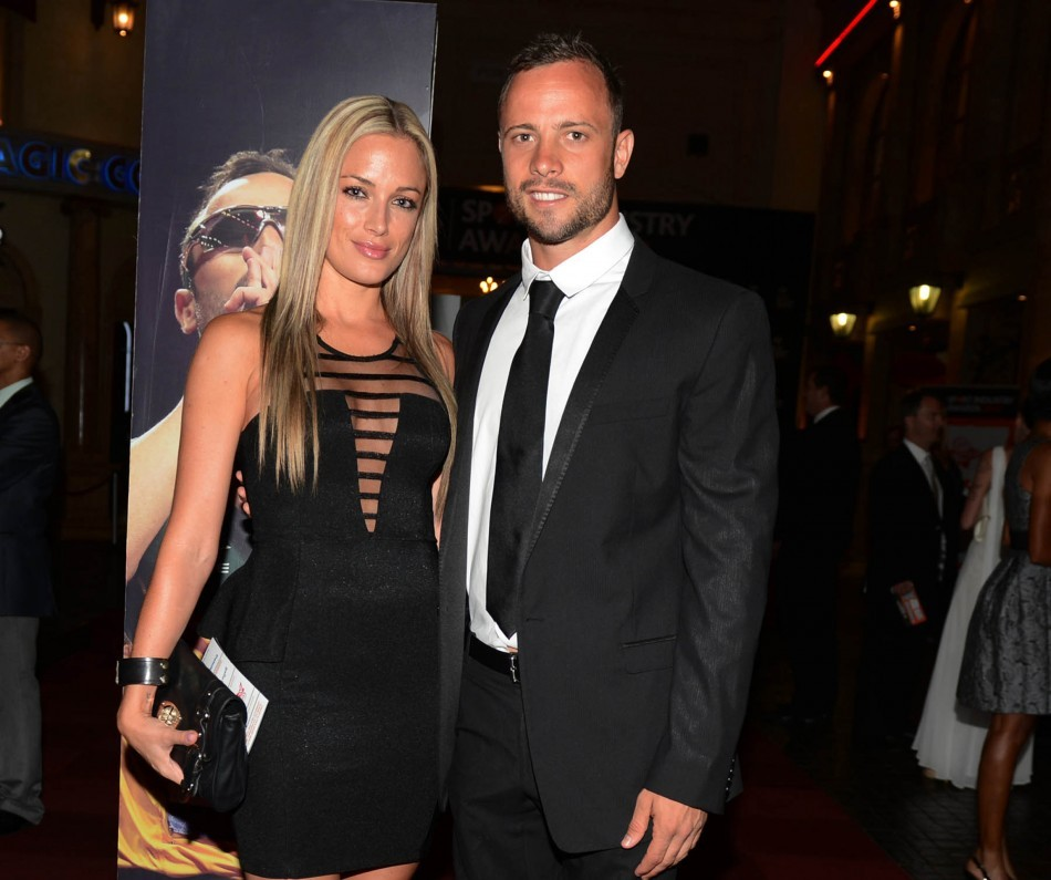 Oscar Pistorius and his girlfriend Reeva Steenkamp (Reuters)