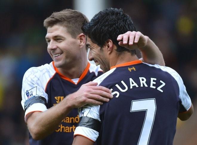 Gerrard and Suarez