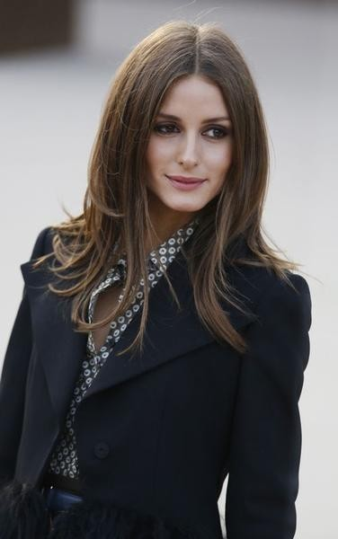 Model Olivia Palermo arrives for the Burberry Prorsum Womenswear AutumnWinter 2013 Show in Hyde Park during London Fashion Week February 18, 2013.