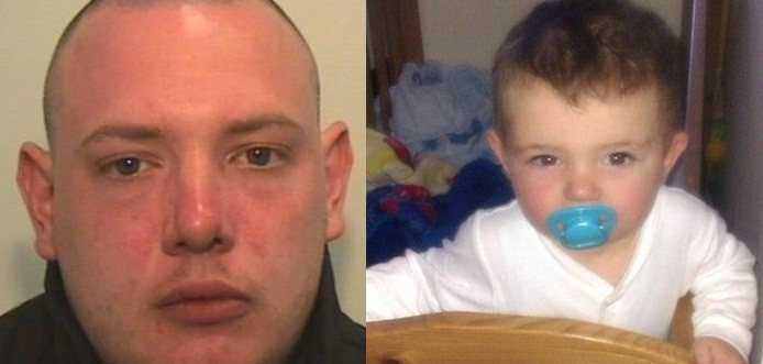 Andrew Partington pleaded guilty to the manslaughter of toddler Jamie Heaton (GMP)