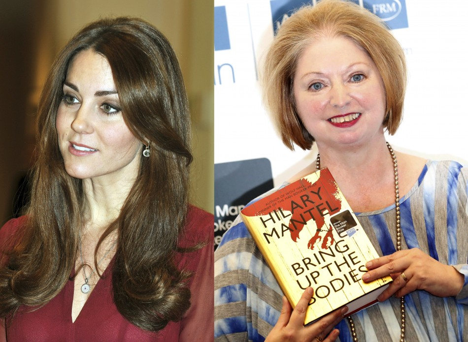 Kate Middleton Hilary Mantel