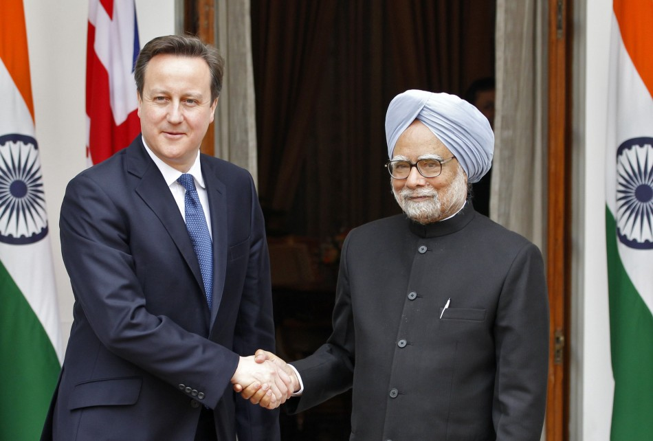 Cameron India visit