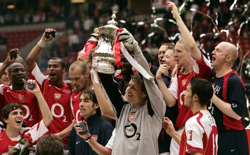 Arsenal last won a trophy in 2005