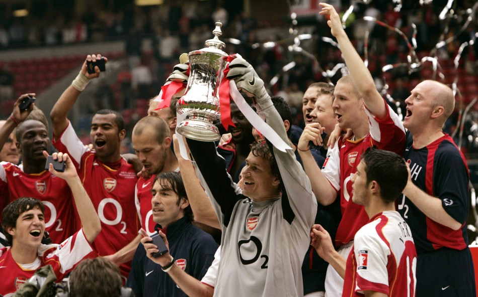 Arsenal last won a trophy in 2005