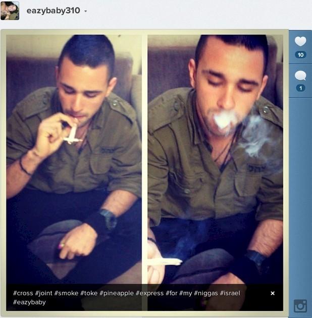 Israeli Soldier Osher Maman Posts Photos \'Half-Naked