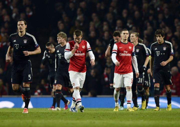 Arsenal v Bayern Munich